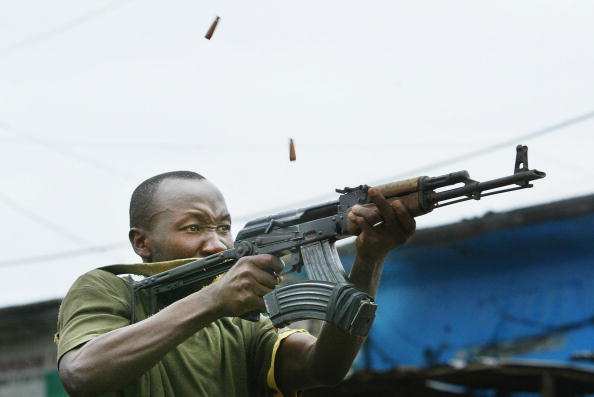 21st Century「Liberian Government Troops Battle Rebels for Monrovia」:写真・画像(11)[壁紙.com]