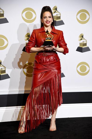 Leather Dress「62nd Annual GRAMMY Awards - Press Room」:写真・画像(14)[壁紙.com]