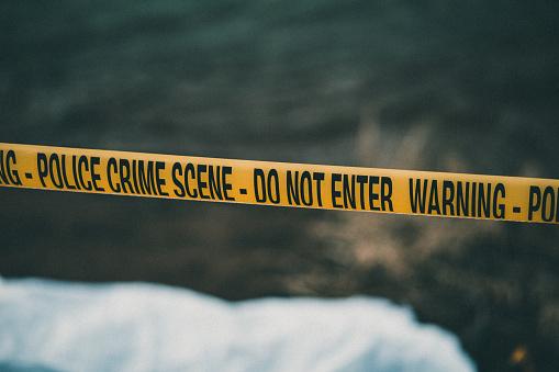 インフルエンザ菌「Police crime scene tape」:スマホ壁紙(16)