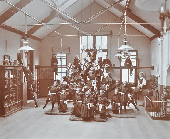 Edwardian Style「Gymnastic Display At Elm Lodge Residential School For Elder Blind Girls, London, 1908」:写真・画像(6)[壁紙.com]