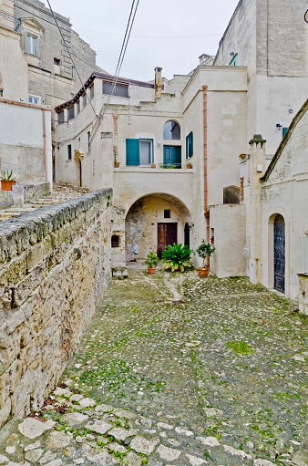 Built Structure「Alley in Matera, Italy」:スマホ壁紙(11)