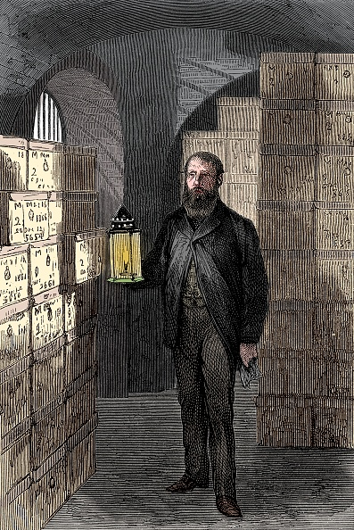 金融と経済「Banknote Store In The Vaults Of The Bank Of England」:写真・画像(6)[壁紙.com]
