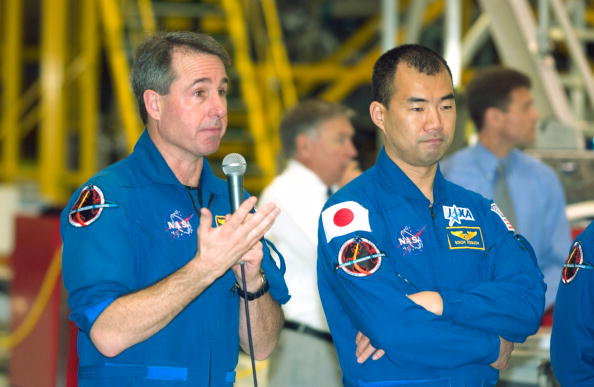 Japan Aerospace Exploration Agency「Discovery Crew Preps For First Shuttle Flight Since Columbia」:写真・画像(9)[壁紙.com]