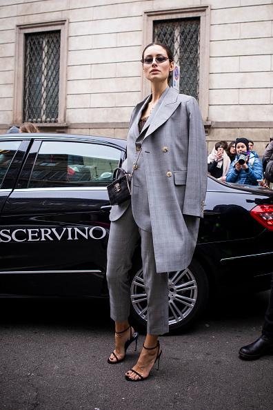 ストリートスナップ「Ermanno Scervino - Street Style - Milan Fashion Week 2019」:写真・画像(1)[壁紙.com]