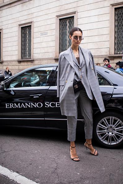 ストリートスナップ「Ermanno Scervino - Street Style - Milan Fashion Week 2019」:写真・画像(0)[壁紙.com]