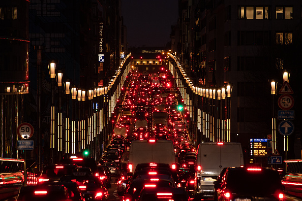 Traffic「Brussels Plan Aims To Reduce Traffic And Help Meet 'Green Deal' Goals」:写真・画像(2)[壁紙.com]