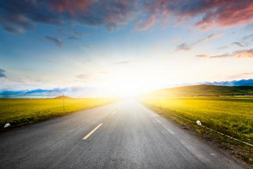 Winding Road「Empty Road」:スマホ壁紙(14)