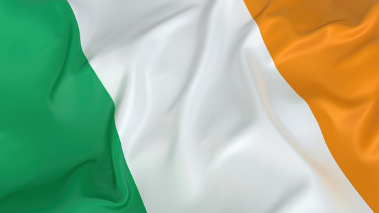 Patriotism「Irish flag in green, white, and orange」:スマホ壁紙(1)