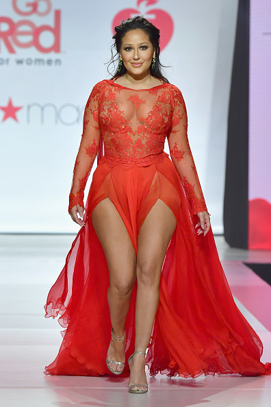 Adrienne Bailon「The American Heart Association's Go Red For Women Red Dress Collection 2018 Presented By Macy's - Runway」:写真・画像(0)[壁紙.com]
