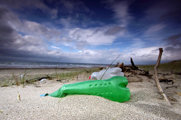 Bottle「Rubbish Litters UK Beaches」:写真・画像(3)[壁紙.com]