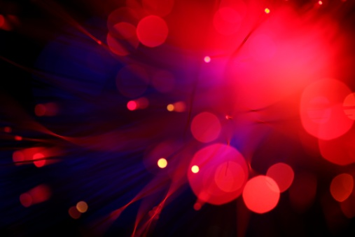 Ultraviolet Light「Blurred view of red lights small and large」:スマホ壁紙(2)