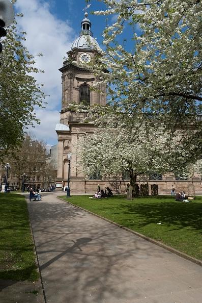 春「Birmingham St Philips Cathedral」:写真・画像(1)[壁紙.com]