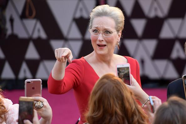 Meryl Streep「90th Annual Academy Awards - Fan Arrivals」:写真・画像(18)[壁紙.com]