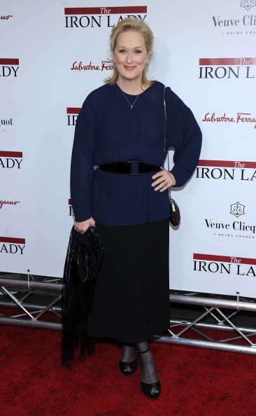 "Larry Busacca「""The Iron Lady"" New York Premiere - Arrivals」:写真・画像(13)[壁紙.com]"