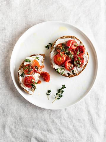 Crunchy「Bruschetta, Bruschetta with Cherry tomatoes, Crostini, Bruschetta」:スマホ壁紙(19)