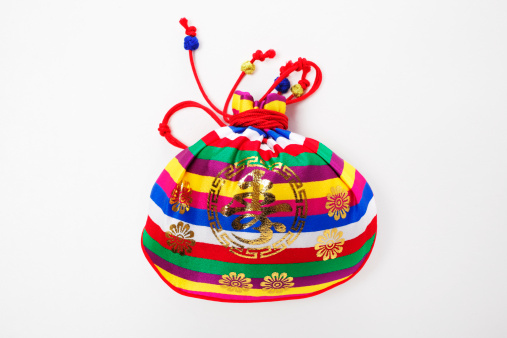 お正月「korean image,happy bag of New year's day」:スマホ壁紙(4)