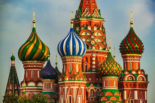 Russia「Saint Basil cathedral at Moscow」:スマホ壁紙(18)