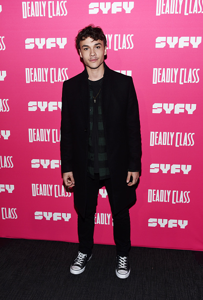 "Fully Unbuttoned「SYFY's New Series ""Deadly Class"" Premiere Screening - Arrivals」:写真・画像(4)[壁紙.com]"
