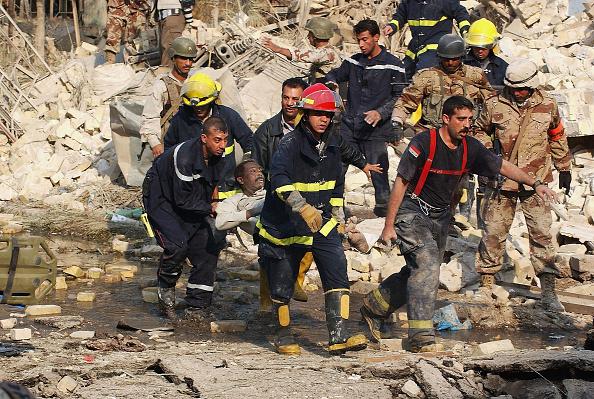 Baghdad「Suicide Bombers Target Interior Ministry Building In Baghdad」:写真・画像(13)[壁紙.com]