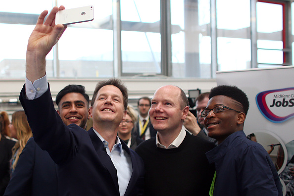 Photography Themes「Nick Clegg Campaigns In Maidstone And Carshalton」:写真・画像(18)[壁紙.com]