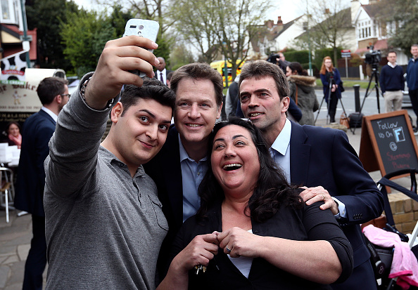 Photography Themes「Nick Clegg Campaigns In Maidstone And Carshalton」:写真・画像(19)[壁紙.com]