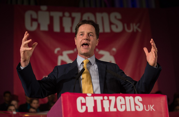Politics and Government「Ed Miliband and Nick Clegg Attend Citizens UK Event In London」:写真・画像(17)[壁紙.com]