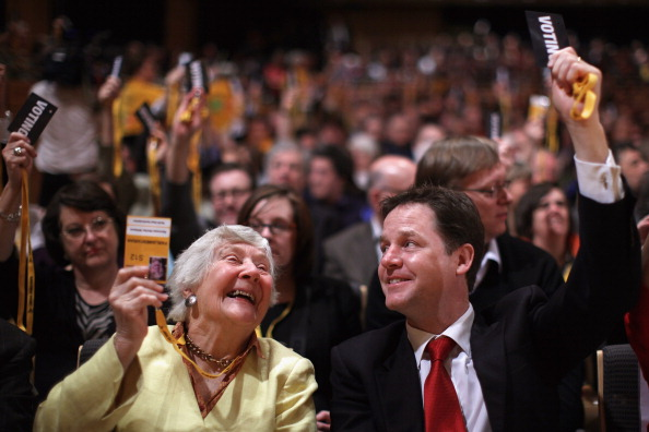 Man Made「Leader Nick Clegg Delivers His Key Note Speech At The Liberal Democratss Spring Forum」:写真・画像(18)[壁紙.com]
