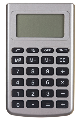 Push Button「Isolated On White Background Calculator」:スマホ壁紙(18)