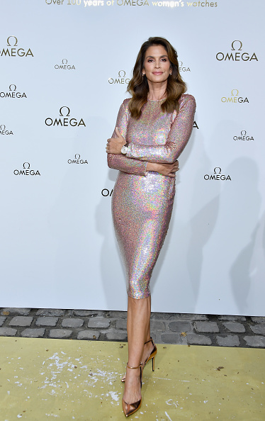 "Cindy Crawford「""Her Time"" Omega Photocall - Paris Fashion Week Womenswear Spring/Summer 2018」:写真・画像(16)[壁紙.com]"