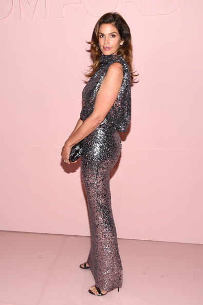 Cindy Crawford「Tom Ford Spring/Summer 2018 Runway Show - Arrivals」:写真・画像(6)[壁紙.com]