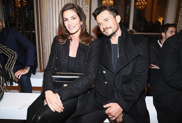 オーランド・ブルーム「Balmain Homme : Front Row - Paris Fashion Week - Menswear F/W 2018-2019」:写真・画像(10)[壁紙.com]