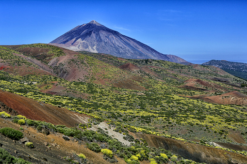 Atlantic Islands「Spain, Tenerife, landscape at Teide National Park」:スマホ壁紙(3)