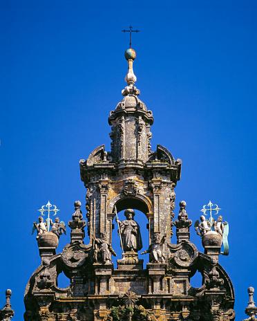 Camino De Santiago「Detail. Cathedral of Santiago de Compostela. Spain」:スマホ壁紙(15)