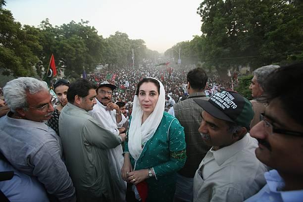 Former Prime Minister Benazir Bhutto Returns To Pakistan:ニュース(壁紙.com)