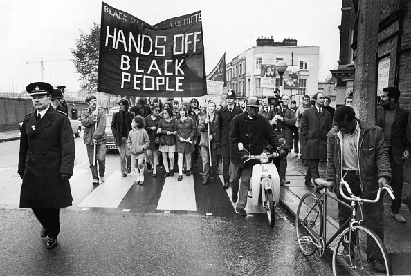 Black History in the UK「Anti-Racist Demo」:写真・画像(3)[壁紙.com]