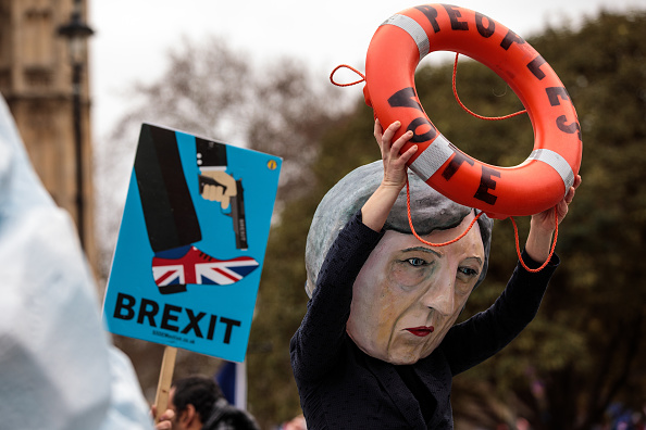 Brexit「MPs Vote On Theresa May's Brexit Deal」:写真・画像(3)[壁紙.com]