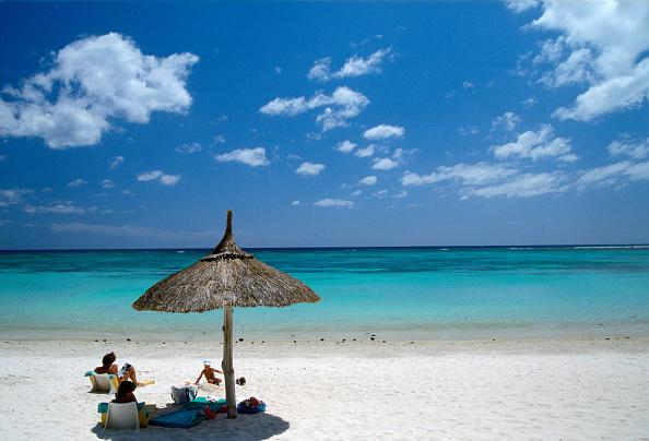 青「White Sand Beach, Mauritius」:写真・画像(18)[壁紙.com]