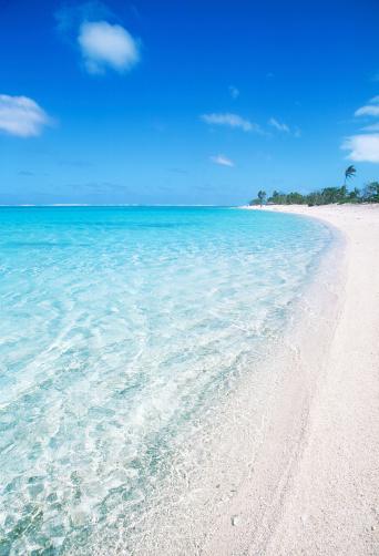 南国「白い砂のビーチで領ポリネシア」:スマホ壁紙(19)
