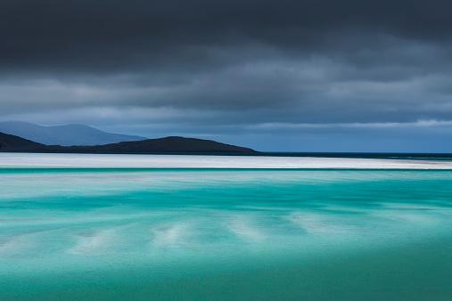 Outer Hebrides「White sand at Luskentyre, Isle of Harris, Scotland」:スマホ壁紙(11)