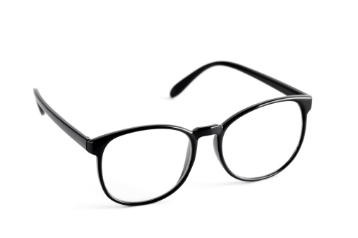 Eyeglasses「Black nerd spectacle frames」:スマホ壁紙(6)