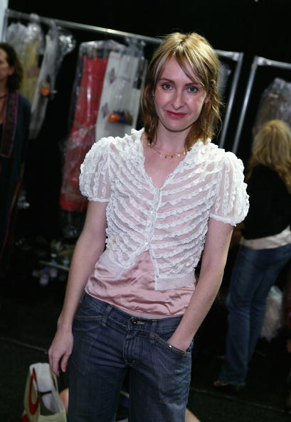 Ruffled Shirt「Rebecca Taylor Spring 2005 - Backstage」:写真・画像(9)[壁紙.com]