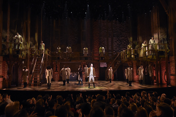 "Broadway - Manhattan「The 58th GRAMMY Awards - ""Hamilton"" GRAMMY Performance」:写真・画像(11)[壁紙.com]"