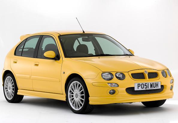 Yellow「2001 MG ZR 160」:写真・画像(1)[壁紙.com]