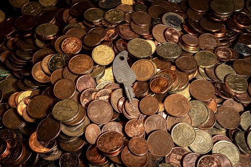 Economic fortune「euro cent coins」:スマホ壁紙(0)