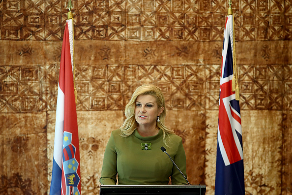 横位置「Croatian President Kolinda Grabar-Kitarovic Visits New Zealand」:写真・画像(6)[壁紙.com]