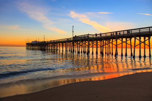 Water's Edge「Balboa Pier, Orange County California」:スマホ壁紙(17)