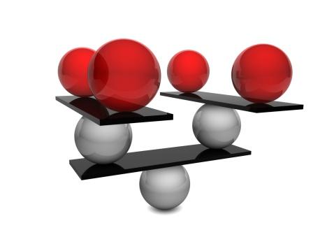 Economic fortune「Balance Concept」:スマホ壁紙(6)