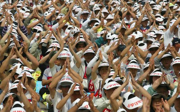 Full Frame「South Korean Workers Protest Against Job Security」:写真・画像(17)[壁紙.com]