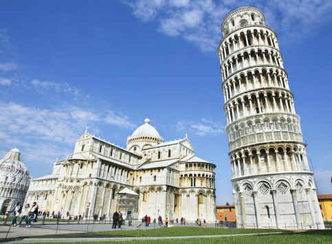 Cathedral「Italy, Tuscany, Leaning Tower of Pisa, Cathedral Santa Maria Assunta」:スマホ壁紙(10)
