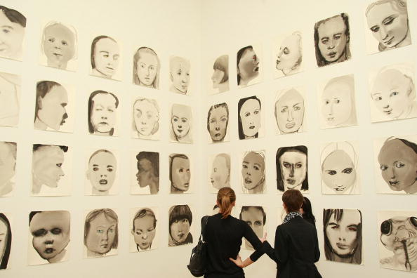 "New York City Museum Of Modern Art「""Marlene Dumas: Measuring Your Own Grave"" & ""Vik Muniz, Rebus"" Openings」:写真・画像(4)[壁紙.com]"
